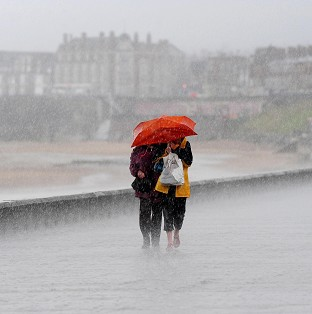 Pockets of northern England, Wales and Scotland can expect up to 40mm of rain, forecasters say