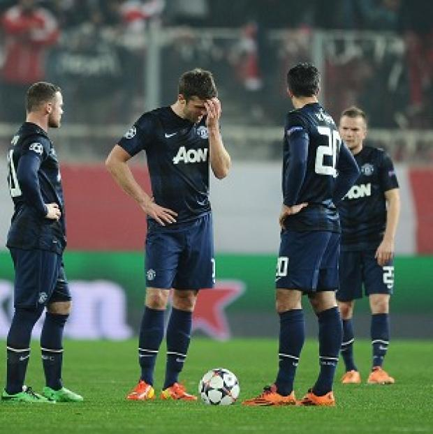 Hampshire Chronicle: Manchester United have a mountain to climb after losing in Greece