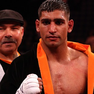 Amir Khan is disappointed that he won't be facing Floyd Mayweather