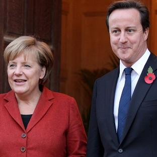 Hampshire Chronicle: Prime Minister David Cameron will hold talks with German chancellor Angela Merkel