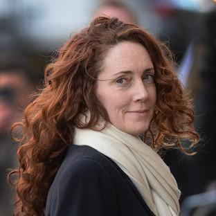 Hampshire Chronicle: Rebekah Brooks arrives at the Old Bailey in London.