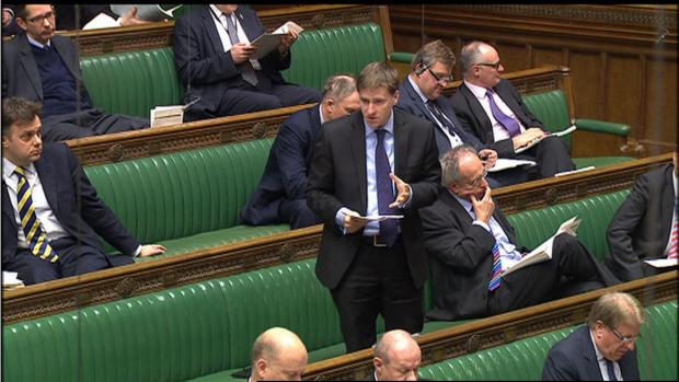 Hampshire Chronicle: Steve Brine in House of Commons yesterday