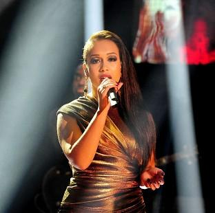 Rebecca Ferguson struggled during her performance on Loose Women
