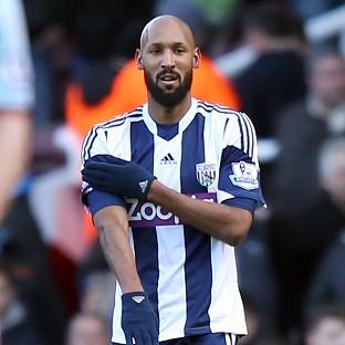West Bromwich Albion's Nicholas Anelka has been banned for five games