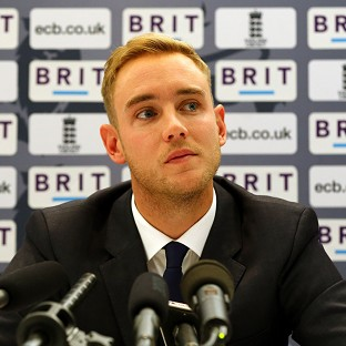 Stuart Broad has only captained England once in a 50-over game