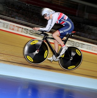 Joanna Rowsell has the chance to bag her second gold in Cali