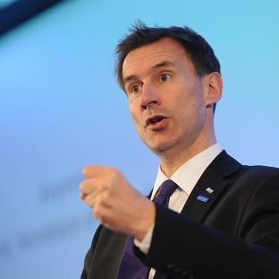 Health Secretary Jeremy Hunt has announced changes to the NHS data scheme.
