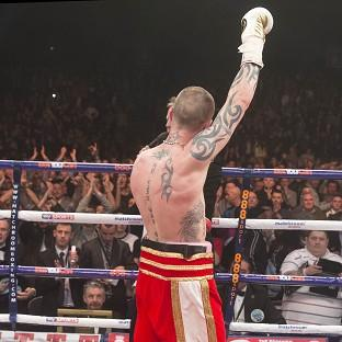 Ricky Burns has vowed to fight on for another 10 years