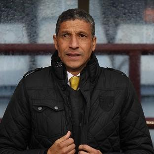 Hampshire Chronicle: Chris Hughton is prepared to take any criticism that comes his way after the defeat