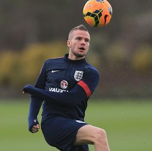 Tom Cleverley, pictured, has been backed by Roy Hodgson