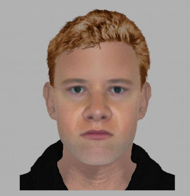 Hampshire Chronicle: An efit of the alleged attacker in Airlie Road