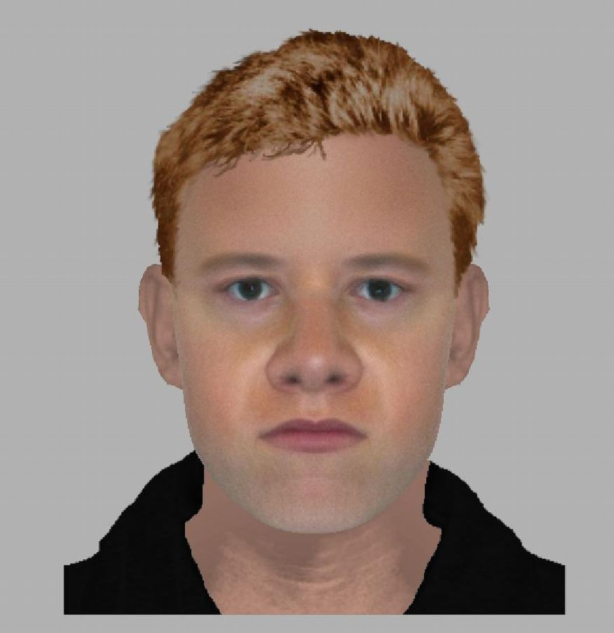 An efit of the alleged attacker in Airlie Road