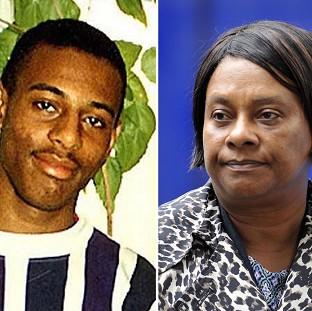 Hampshire Chronicle: Stephen Lawrence and his mother Doreen
