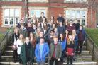 Peter Symonds students with Oxbridge offers