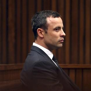 Oscar Pistorius is on trial for the murder of Reeva Steenkamp (AP)