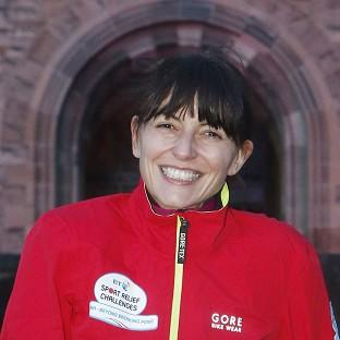 Davina McCall has said her Sport Relief challenge made her cry for the first time in years