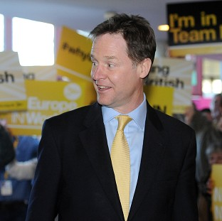 Clegg accuses rivals of 'arrogance'