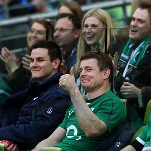Brian O'Driscoll helped Ireland secure a convincing win over Italy
