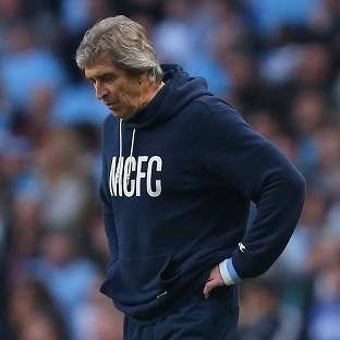 Hampshire Chronicle: Manchester City manager Manuel Pellegrini saw his side beaten by Wigan in the quarter-finals of the FA Cup on Sunday