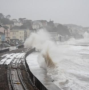 Damage to the railway in Dawlish, Devon, reduced train punctuality
