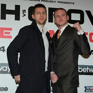 Carl Froch, left, criticised George Groves for requesting non-British officials