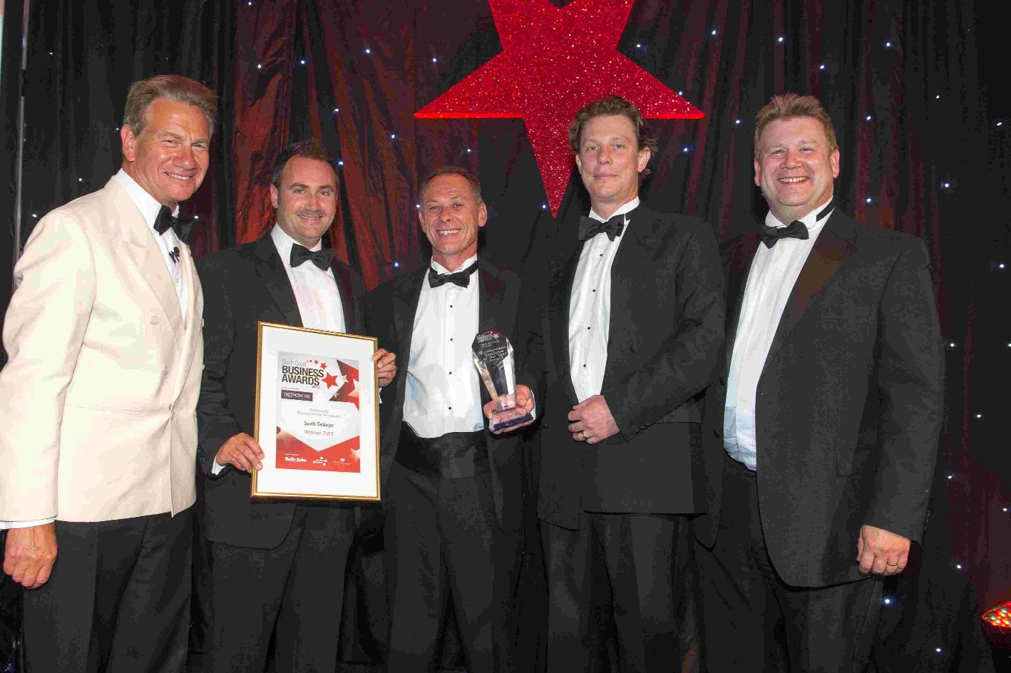 Trethowan's Overall Winner's Award celebrates business success