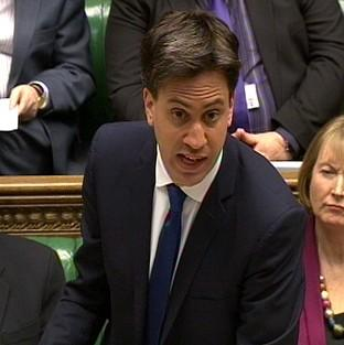 Labour party leader Ed Miliband says Labour will seek to return more control from the EU to national parliaments