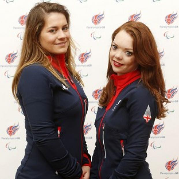 Hampshire Chronicle: Jade Etherington, right, and guide Caroline Powell, left, were left disappointed by slalom silver at the Winter Paralympics