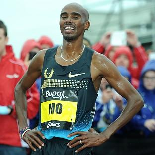 Mo Farah will compete in New York this weekend