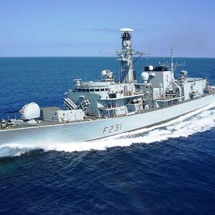 A torpedo was 'jettisoned unexpectedly' from HMS Argyll while on a training exercise at Devonport dockyard in Plymouth