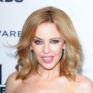 Kylie Minogue is focusing on what she does have rather than what she does not