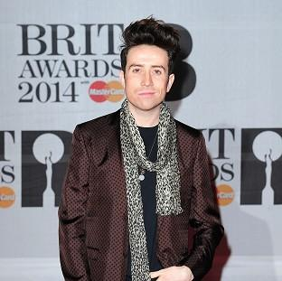 Hampshire Chronicle: Nick Grimshaw has got on his bike for Sport Relief