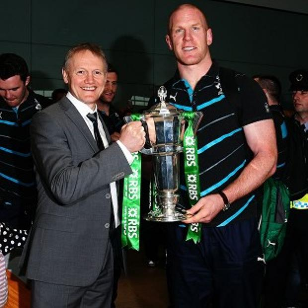 Hampshire Chronicle: Paul O'Connell, right, says Joe Schmidt 'instils a lot of confidence in those around him'