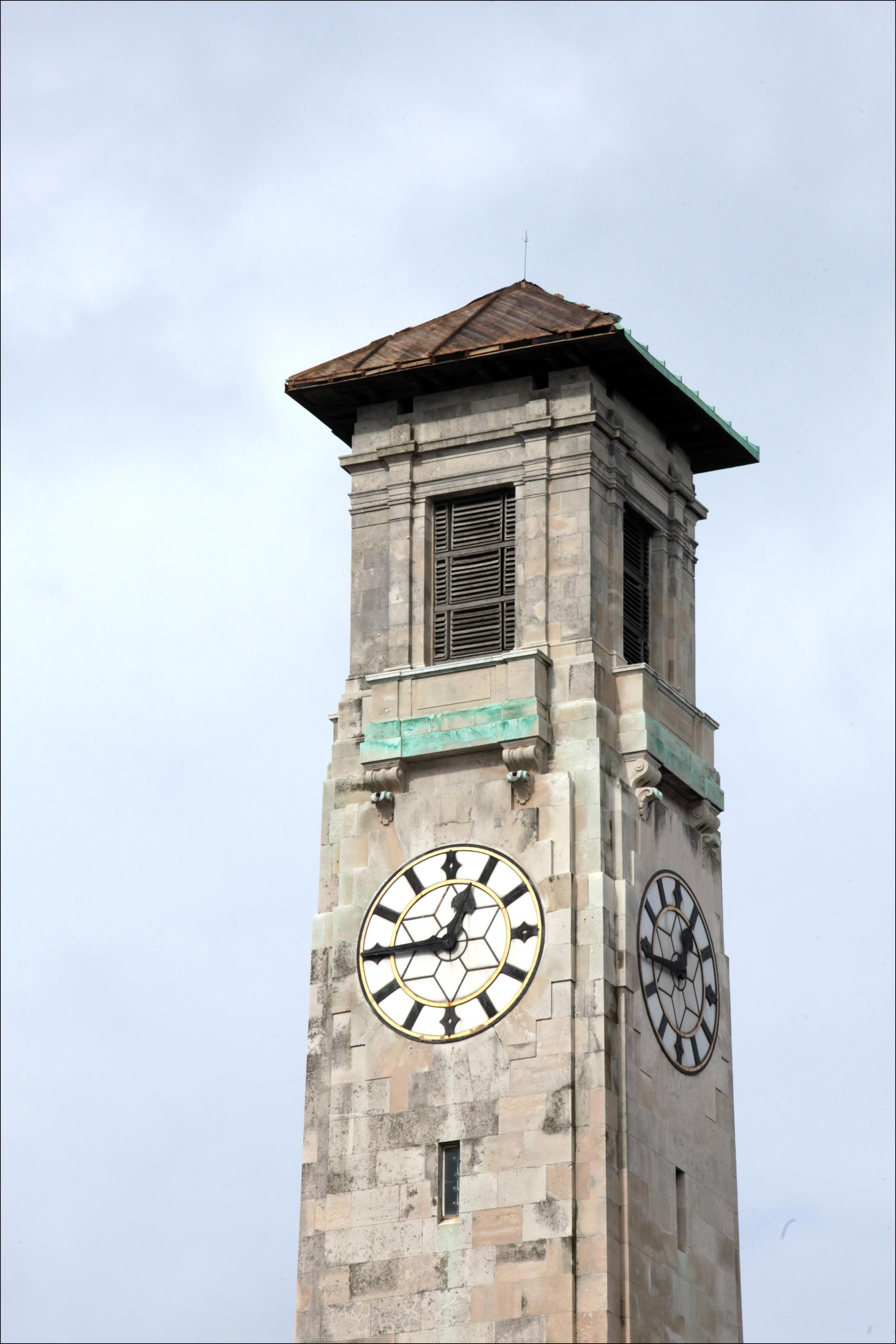 The Civic Centre clock tower