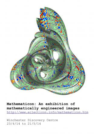 New maths-art exhibition to be shown at the Winchester Discovery Centre