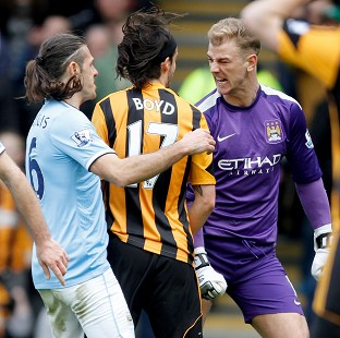 George Boyd has been charged with spitting at Joe Hart during Hull's 2-0 defeat at the weekend