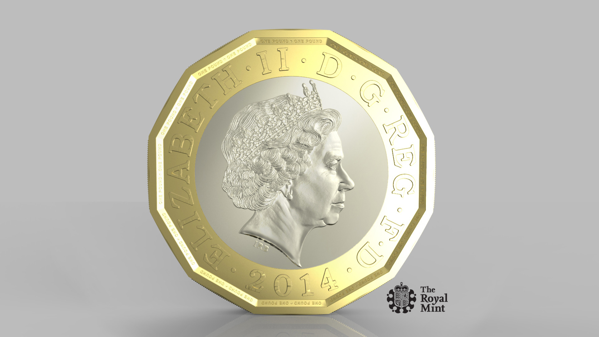 The new £1 coin that has been introduced to fight off fraudsters