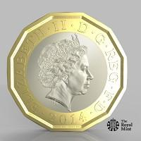 Hampshire Chronicle: The new one pound coin announced by the Government will be the most secure coin in circulation in the world (HM Treasury/PA)