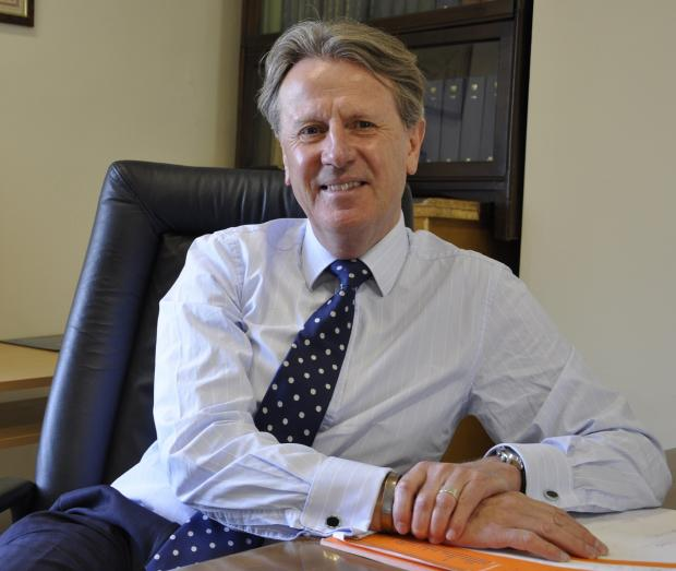 Hampshire Chronicle: Hampshire Chamber chief executive Stewart Dunn