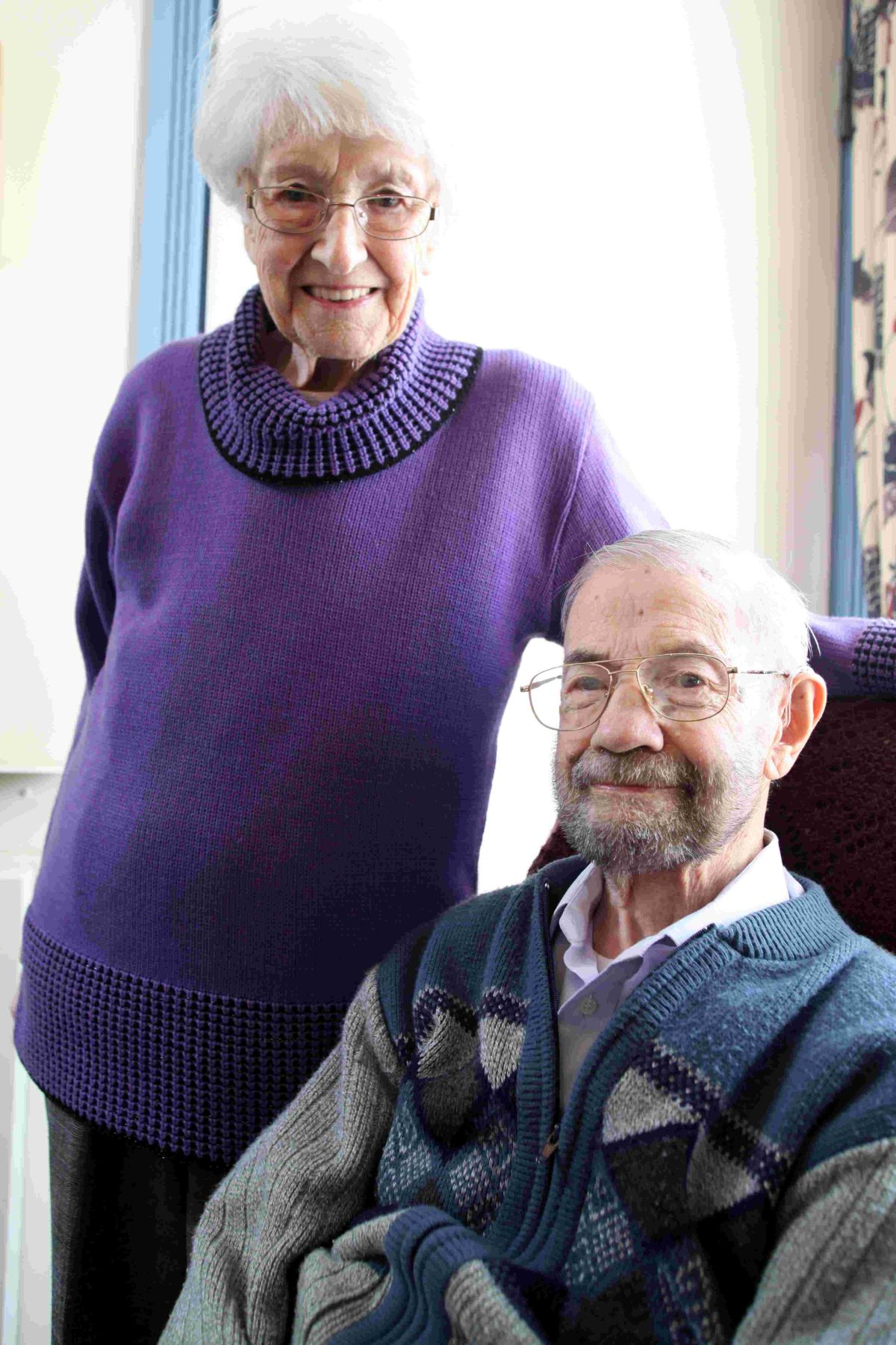 Doug and Betty Hale arrived in Winchester 35 years ago, living in Arthur Road, before moving to accommodation at St John's Winchester Charity in 1998