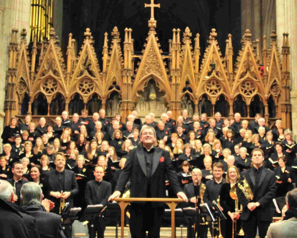 The choir will perform Mozart & Haydn's finest music at 7.30pm on Saturday, March 22