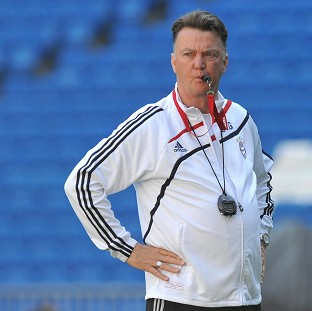 Louis van Gaal has the Premier League in his sights