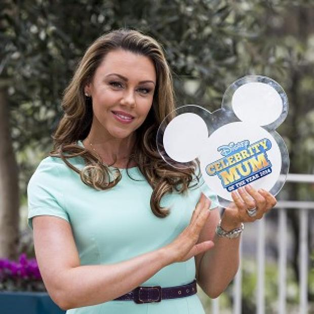 Hampshire Chronicle: Michelle Heaton was named the Disney Celebrity Mum of the Year 2014