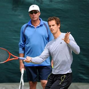 Andy Murray, right, will hope to take strides forward in appointing a new coach to replace Ivan Lendl, left, next month