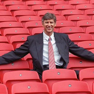 Arsene Wenger took charge at Arsenal in 1996
