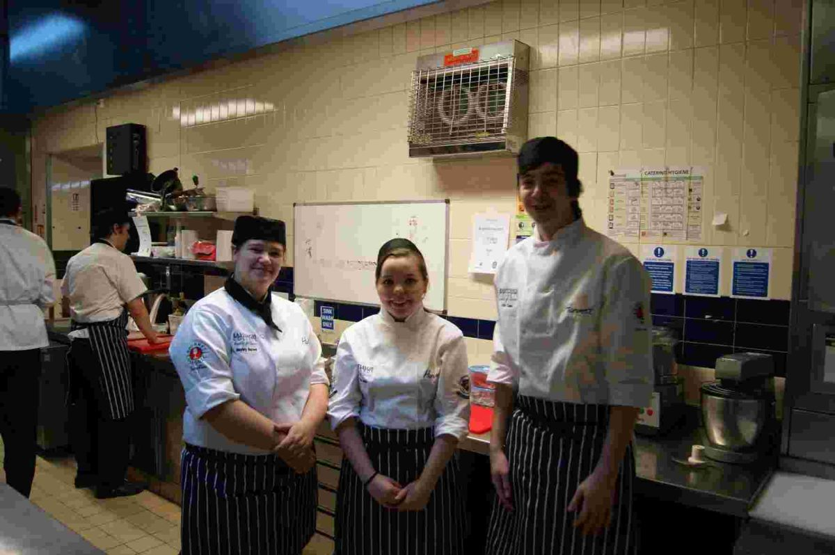 Catering students cook up a storm at national competition