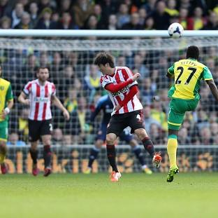 Alex Tettey thunderbolt secured the points for Norwich
