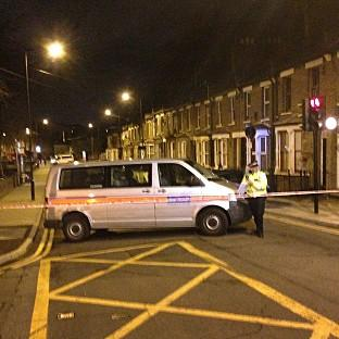 Hampshire Chronicle: Police at the scene in Hackney, east London, where a teenage girl has been shot