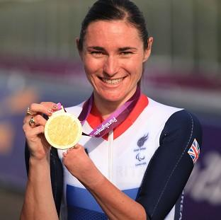 Hampshire Chronicle: Paralympic champion Dame Sarah Storey has been named Celebrity Mum of the Year