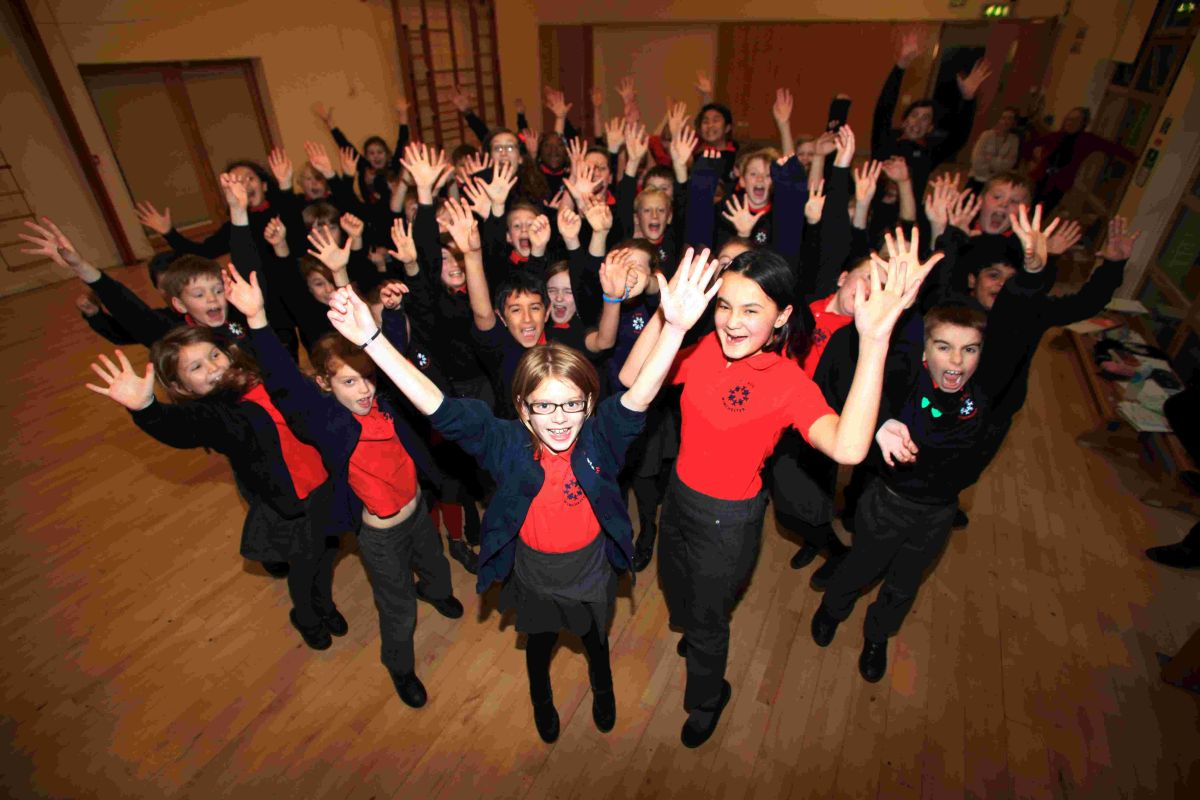 St Bede Church of England Primary School received a ModeShift Stars Award last month